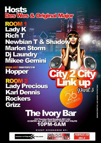 City to City Link Up Part 3 Nov 26th 2016 (B Side)