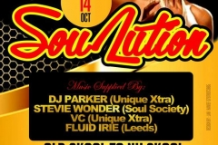 Soulution Flyer 14th Oct 2017